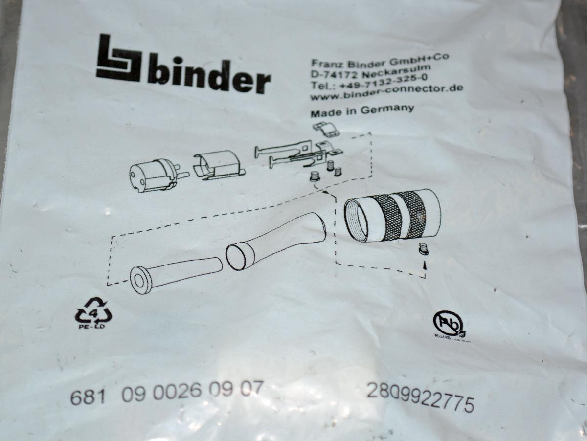 Binder Kabeldose 7-pol Buchse - BE-Abverkauf